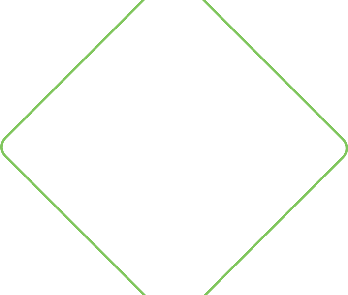Tilted green border